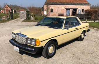 Mercedes W123 300 CD 1978 SOLD