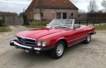 Mercedes W107 450 SL 1979 SOLD