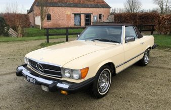 Mercedes W107 380 SL 1982 SOLD