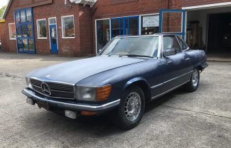Mercedes W107 500 SL 1985 SOLD