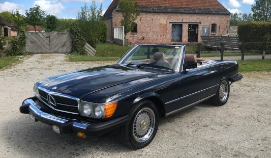 Mercedes W107 380 SL 1984 — SOLD