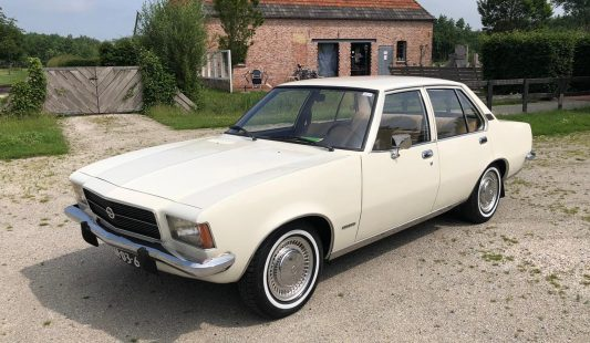 Opel D Rekord 1.7 1972