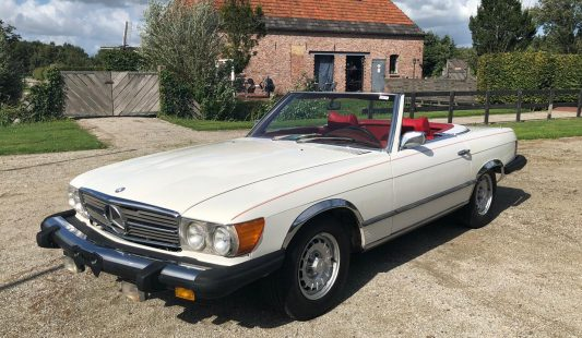 Mercedes W107 450 SL 1975 — SOLD