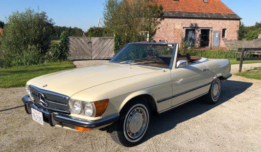 Mercedes W107 350 SL 1972