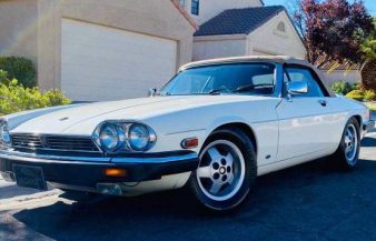 Jaguar XJS 12 1988 Convertible