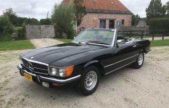 Mercedes W107 380 SL 1982 SOLD