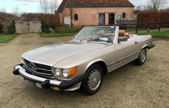 Mercedes W107 560 SL 1986 — SOLD