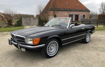 Mercedes W107 450 SL 1973 — SOLD