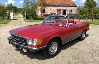 Mercedes W107 450 SL 1972 — SOLD
