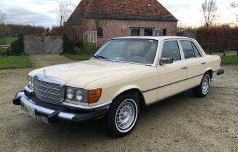 Mercedes W116 300 SD 1979 — SOLD
