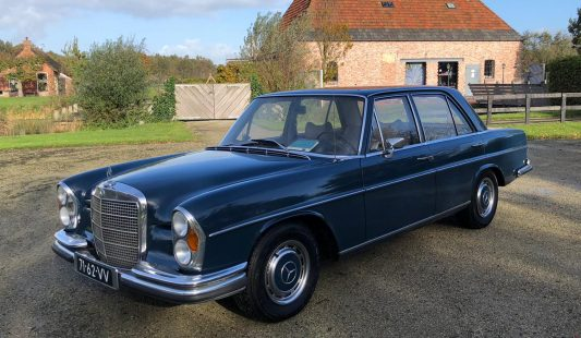 Mercedes W108 280 SE 1973 — SOLD