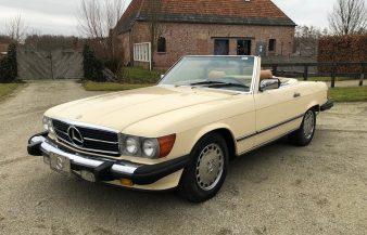 Mercedes W107 560 SL 1986