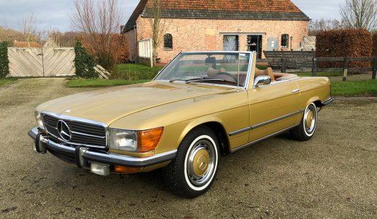 Mercedes W107 450 SL 1973