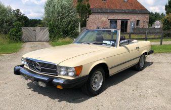 Mercedes W107 380 SL 1983