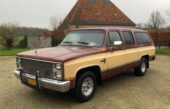 Chevrolet Suburban C10 Silverado 1983 — SOLD