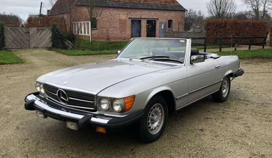 Mercedes W107 450 SL 1980 — SOLD
