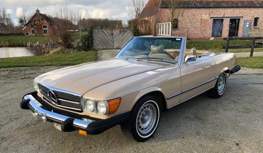 Mercedes W107 450 SL 1975