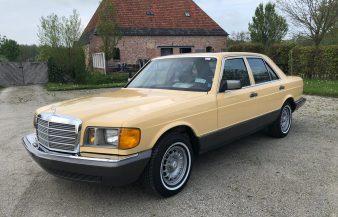 Mercedes W126 300 SD 1981