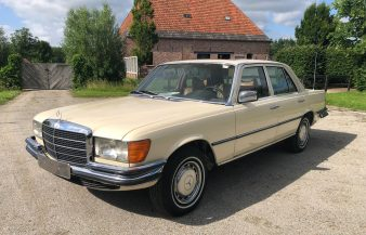 Mercedes W116 280 SE 1978 — SOLD