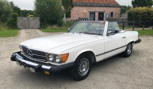 Mercedes W107 450 SL 1978