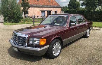 Mercedes W126 560 SEL 1986 — SOLD