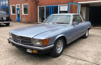Mercedes W107 500 SLC 1980