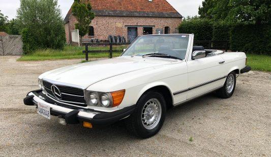 Mercedes W107 450 SL 1980