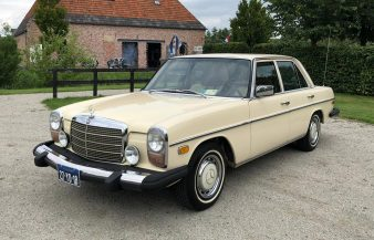 Mercedes W115 300 D 1975 — SOLD