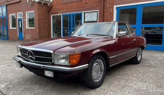 Mercedes W107 500 SL 1982